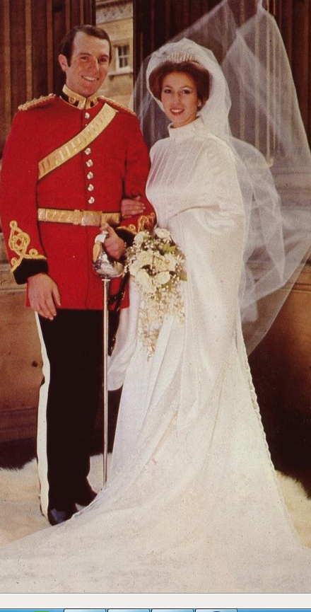 Princess Anne Wedding Dress Pictures : Princess anne